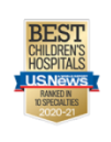 Best Childrens Hospital 2020-2021 badge