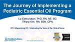 The Journey of Implementing a Pediatric Essential Oil Program by Elizabeth Edmundson and Tiffany Kim