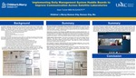 Implementing Daily Management System Huddle Boards to Improve Communication Across Satellite Laboratories by Sean Tucker