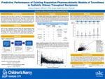 Predictive Performance of Existing Population Pharmacokinetic Models of Tacrolimus in Pediatric Kidney Transplant Recipients by Alenka Chapron and Susan M. Abdel-Rahman