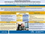 Teaching Skills for Self Sufficiency: Health Management for Patients with Disabilities and Chronic Health Conditions