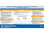 Optimizing Antibiotic Management of Pediatric Acute Otitis Media in an Emergency Department by Alicia Daggett, Alaina N. Burns, Brian R. Lee, Nirav Shastri, Patricia Phillips, and Rana E. El Feghaly