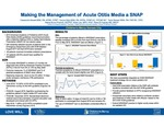 Making the Management of Acute Otitis Media a SNAP by Cassandra Newell, Donna Wyly, Tanis Stewart, Alaina N. Burns, Brian R. Lee, and Rana El Feghaly