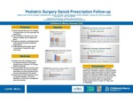 Pediatric Surgery Opioid Prescription Follow-up