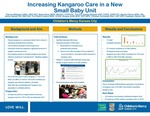Increasing Kangaroo Care in a New Small Baby Unit