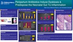 Peripartum Antibiotics Induce Dysbiosis and Predispose the Neonatal Gut Towards Inflammation