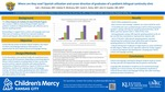 Where are they now? Spanish utilization and career direction of graduates of a pediatric bilingual continuity clinic