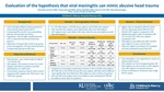 Evaluation of the hypothesis that viral meningitis is a mimic of abusive head trauma