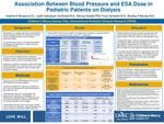 Association Between ESA Dose and Blood Pressure in Pediatric Patients on Dialysis