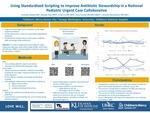 Using Standardized Scripting to Improve Antibiotic Stewardship in a National Pediatric Urgent Care Collaborative
