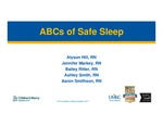 ABCs of Safe Sleep by Alyson Hill RN, Jennifer Markey RN, Bailey Ritter RN, Ashley Smith RN, and Aaron Smithson RN