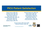 PICU Patient Satisfaction