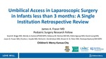 Umbilical Access in Laparoscopic Surgery in Infants less than 3 months: Single Institution Retrospective Review